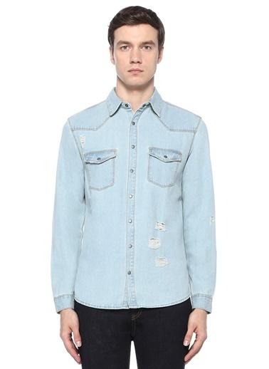 Shine Original Gömlek Mavi